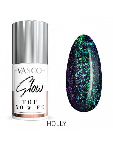 Vasco Top No Wipe Glow - Holly 6ml